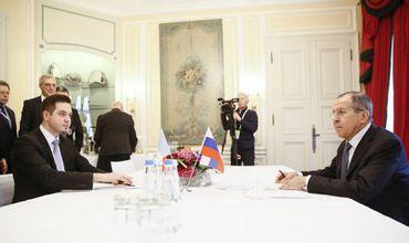 Министр Тудор Ульяновски провел встречу с Сергеем Лавровым