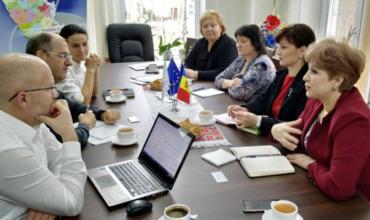 """Группа экспертов провела мониторинг проекта """"Южные ворота Молдовы""""."""