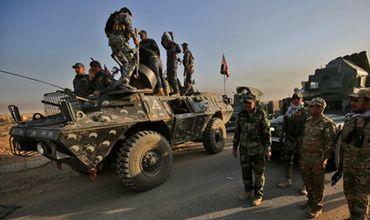 Военные Ирака начали атаку на главный аэропорт Мосула