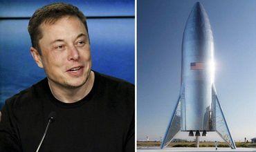 Илон Маск показал реальное фото нового космического корабля Starship.
