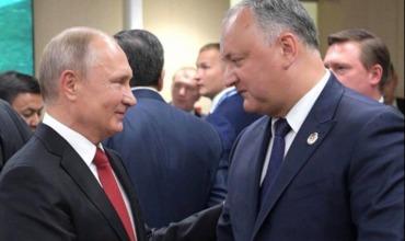 Додон рассказал об итогах визита в Москву