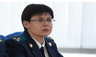 Ольга Дубровина - новый министр юстиции Приднестровья. Фото: Пресс-служба президента Приднестровья.