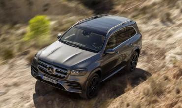 Новый Mercedes-Benz GLS прошел испытание пустыней.