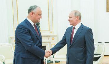 Додон договорился с Путиным: В этом году цена на газ не вырастет