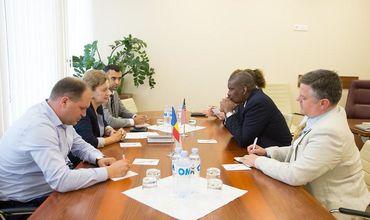 Посол США встретился со спикером парламента Зинаидой Гречаный.