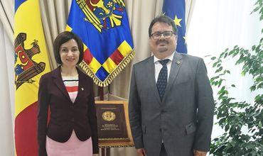 Санду: ЕС готов возобновить дискуссии о макрофинансовой помощи Молдове