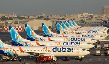 FlyDubai отменила все рейсы из Дубая до конца дня
