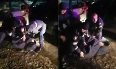 51-летний патрульный инспектор был госпитализирован в Резинскую районную больницу с сотрясением мозга.