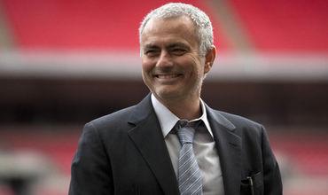 Главный тренер английского «Манчестер Юнайтед» Жозе Моуринью.