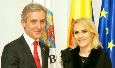 Вице-премьер Юрие Лянкэ встретился с мэром Бухареста Габриэлой Фиря