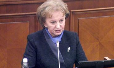 Председатель Партии социалистов Зинаида Гречаная.