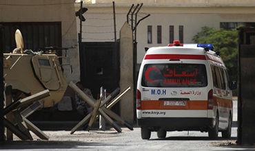 В Египте при нападении боевиков погибли пять полицейских.