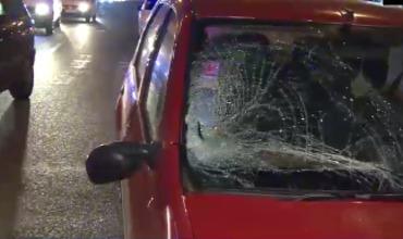 ДТП произошло минувшей ночью на столичном проспекте Дечебал.