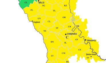 Желтый код метеоопасности: в Молдову возвращается жара