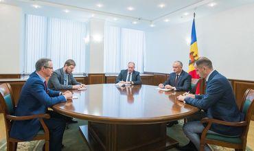 Додон обсудил с главой Миссии ОБСЕ приднестровское урегулирование.