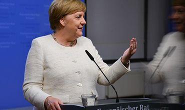 Меркель прокомментировала недавние приступы дрожи.