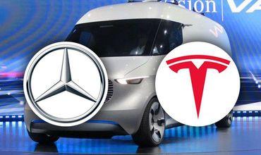 Mercedes и Tesla заявили о совместном проекте