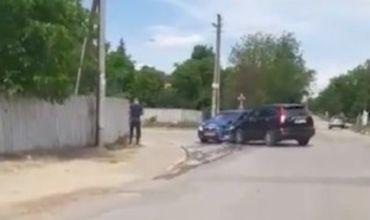 Таксист спровоцировал аварию в Лэпушне