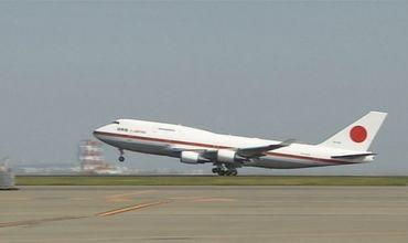Avionul premierului nipon a pierdut o parte dintr-o aripă în timpul zborului.