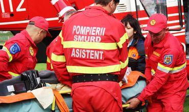 Экипаж SMURD доставил в Кишинев женщину, получившую сильные ожоги.