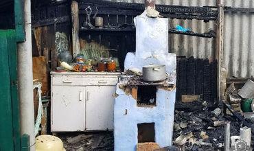 В Тирасполе произошел пожар в частном доме.