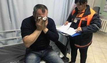 После применения газа у суда Оргеева госпитализировано 6 человек