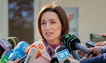 """Санду про """"унирю"""": Это решение для Молдовы"""