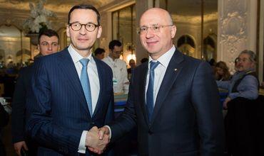 Молдова и Польша выступают за активизацию двусторонних отношений