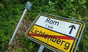 Ошибка в навигаторе привела британца в немецкий поселок вместо Рима
