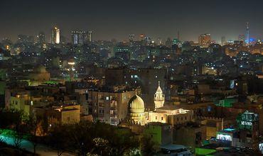 Египет. Ночной Каир.