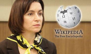 В «Википедии» указан новый состав правительства Молдовы, возглавляемый премьер-министром Майей Санду.