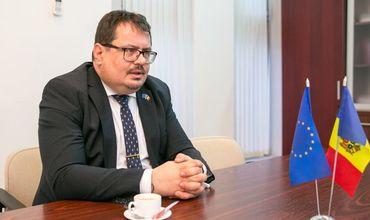 Глава делегации Евросоюза в Молдове Петер Михалко.