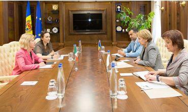 Спикер Зинаида Гречаная встретилась с послом Италии в Молдове