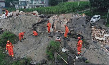 Число пострадавших при землетрясении в Китае возросло до 199.
