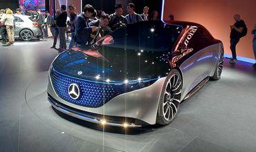 Mercedes-Benz показал концепт нового электромобиля.