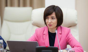 Санду: В ближайшие 5 лет мы будем зависеть от поставок газа из России