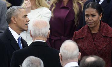 Мишель Обама объяснила недовольный вид на инаугурации Трампа