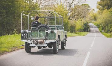 Land Rover вернул на дорогу выставочный внедорожник 1948 года