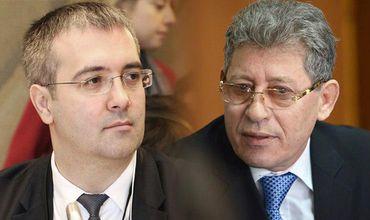 Сырбу и Гимпу обменялись язвительными репликами в коридоре парламента.