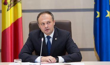 Спикер парламента Андриан Канду.