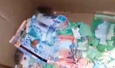 Într-o bancă din Kazahstan, şoarecii au ronţăit bancnote