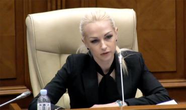 "Депутат от партии ""Шор"" Марина Таубер."