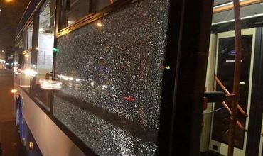 В Кишиневе расстреляли троллейбусы из пневматического оружия.