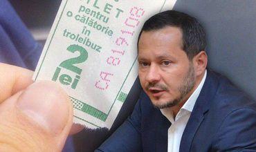 Кодряну объяснил необходимость внедрения новых троллейбусных билетов