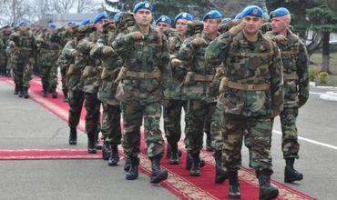 Четвертый контингент военнослужащих Нацармии вернулся из Косово