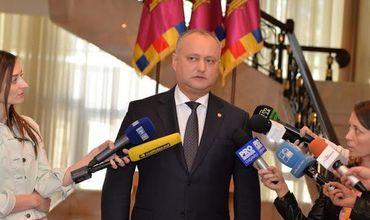 Додон: Молдове нужна жесткая президентская власть.