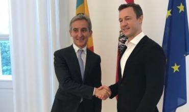 Вице-премьер по европейской интеграции Юрие Лянкэ совершил визит в Вену