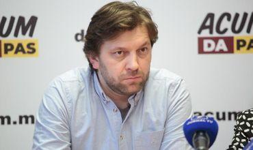 Депутат от блока ACUM Думитру Алайба.