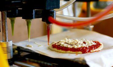 3D-принтер научили печатать продукты для пищи и сразу же ее готовить.