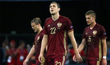 В Марселе сборная России сыграла с Англией вничью - 1:1.
